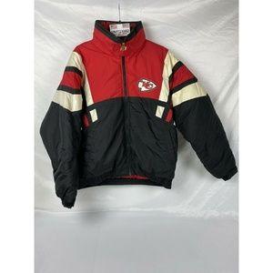 Kansas City Chiefs Throwback NFL GAMEDAY Jacket